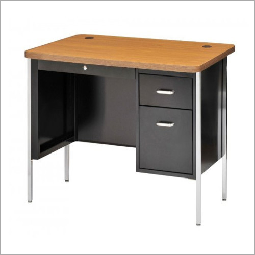 2 Drawers Wooden Teacher Desk