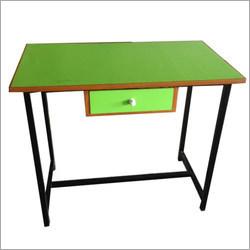 Single Drawer Wooden Teacher Desk