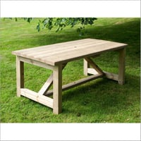 Garden Wooden Table