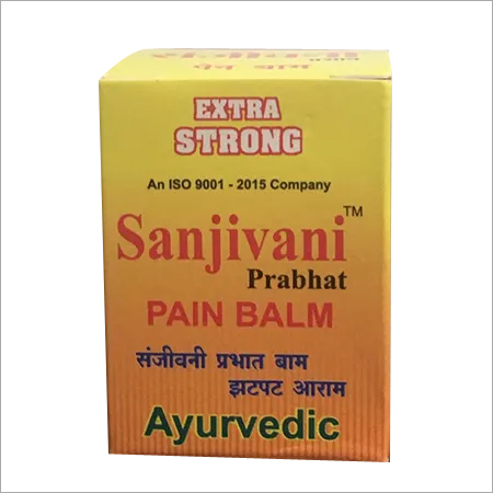 Sanjivini Herbal Pain Balm