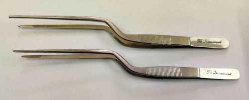 Bayonet shape Tissue holding forceps