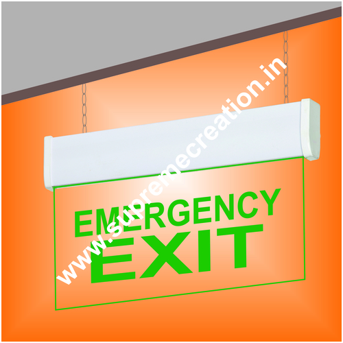 Hanging Emergency Led Exit Sign