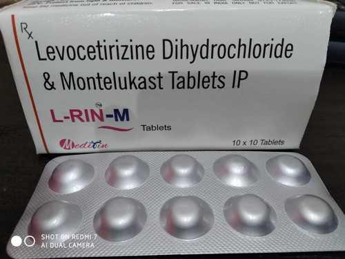 Levocetirizine Dihydrohchloide & Montelukast tablet ip