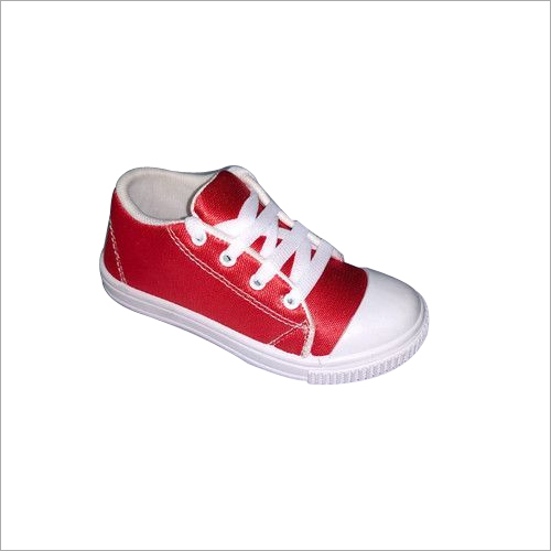 Red School Canvas Shoes
