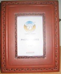 Plain Leather Photo Frame