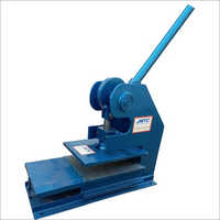 Chappal Making Machine