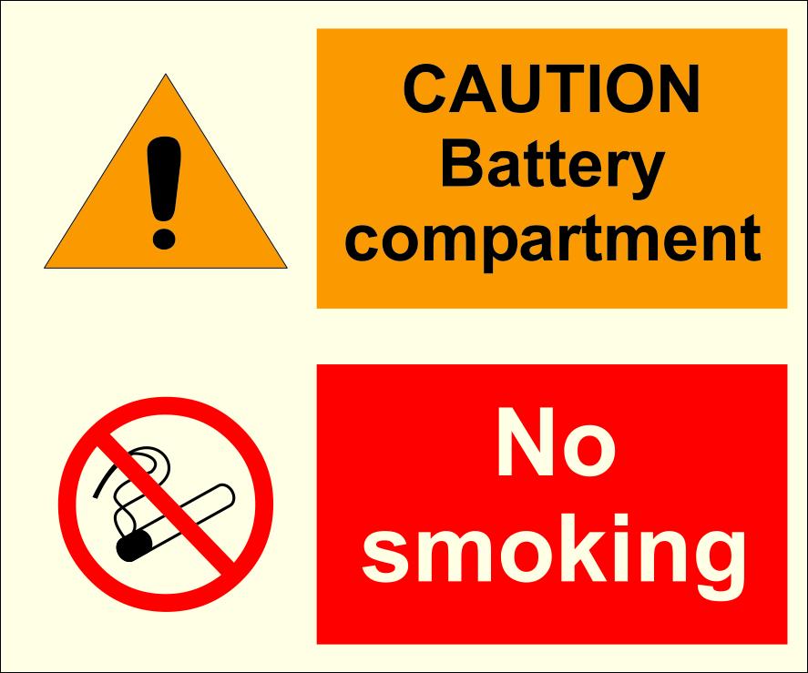 danger construction site sign