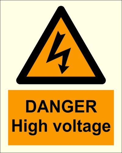 Danger Safety Sign