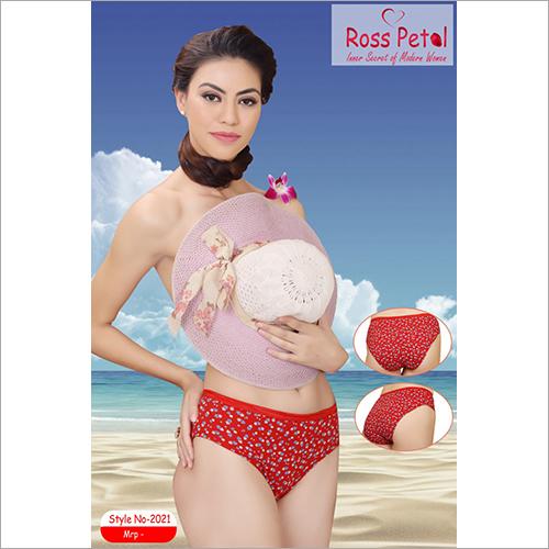 2021 Ladies Printed Panty