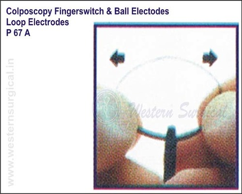 Colposcopy Fingerswitch & Ball Electodes