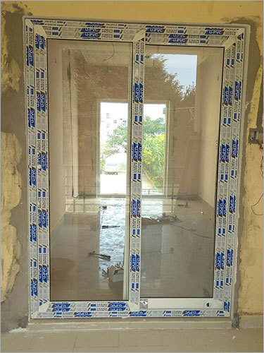 Full Glass UPVC Door