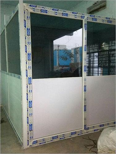 Half Glass UPVC Door