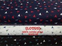 Lotus 100% cotton print