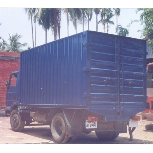 Container Van Body Fabrication