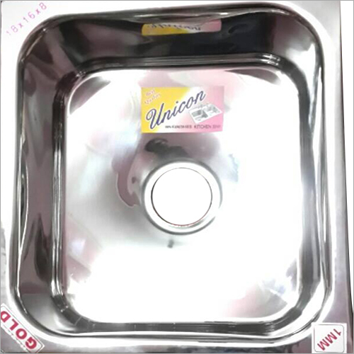 1mm SS Single Kitchen Sink