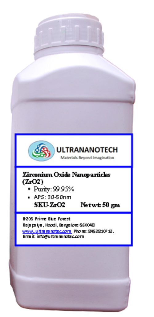 Zirconium oxide nano (ZrO2)