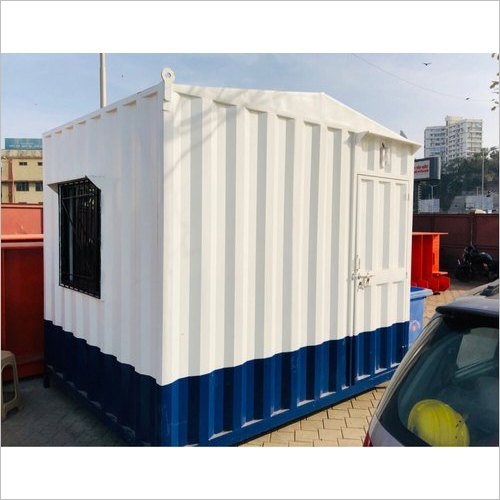 Portable Steel Toll Booth