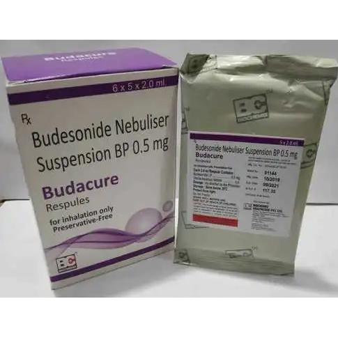 BUDESONIDE NEBULISER 0.5 MG.