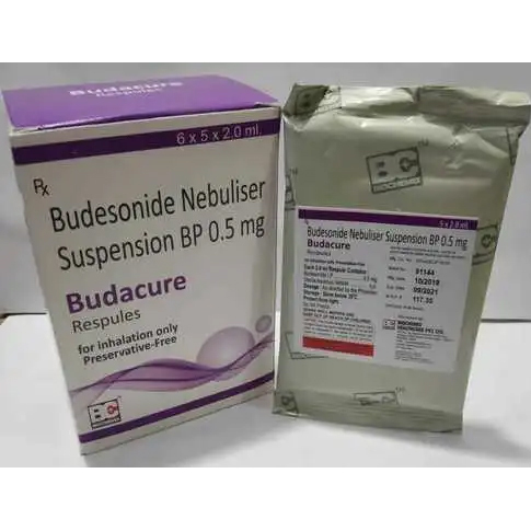 BUDESONIDE NEBULISER 0.5 MG.