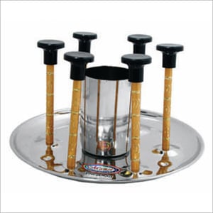 Steel Glass Stand