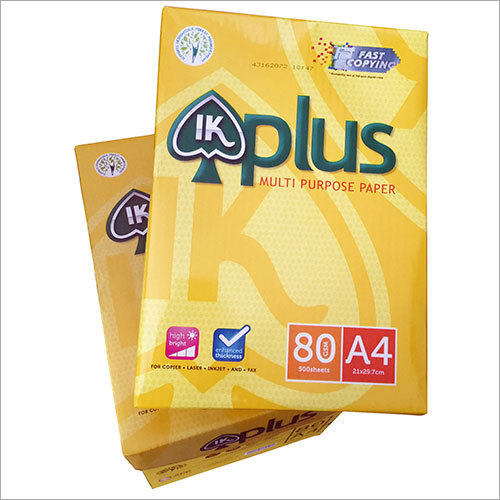 IK PLUS 80 GSM A4 Paper