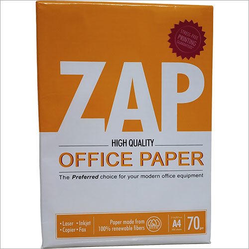 ZAP 70 GSM A4 Office Paper