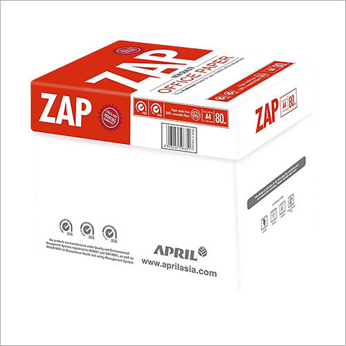 ZAP 80 GSM A4 Paper