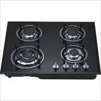 Automatic Four Burner Glass Top Gas Stove