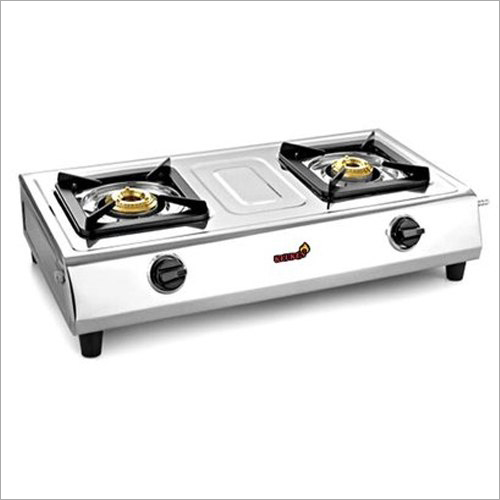 Two Burner Gas Stainless Steel Stove