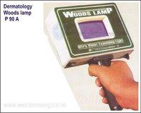 Dermatology Woods lamp