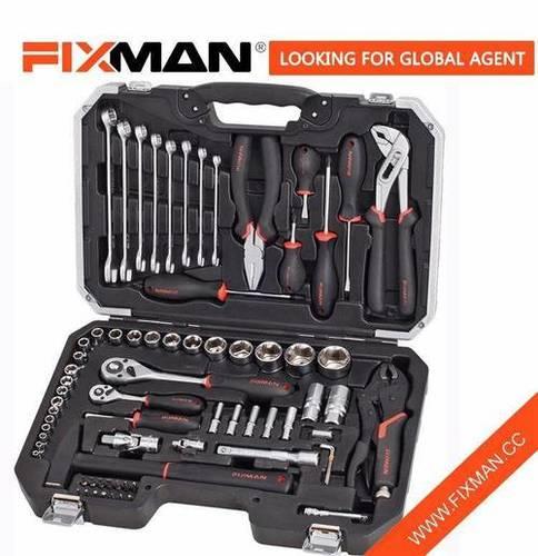 "120 PCS Car Repair Hand Tool Kit Box Set , Socket Wrench tool kit set 1/2"" 1/4′ 3/8"""