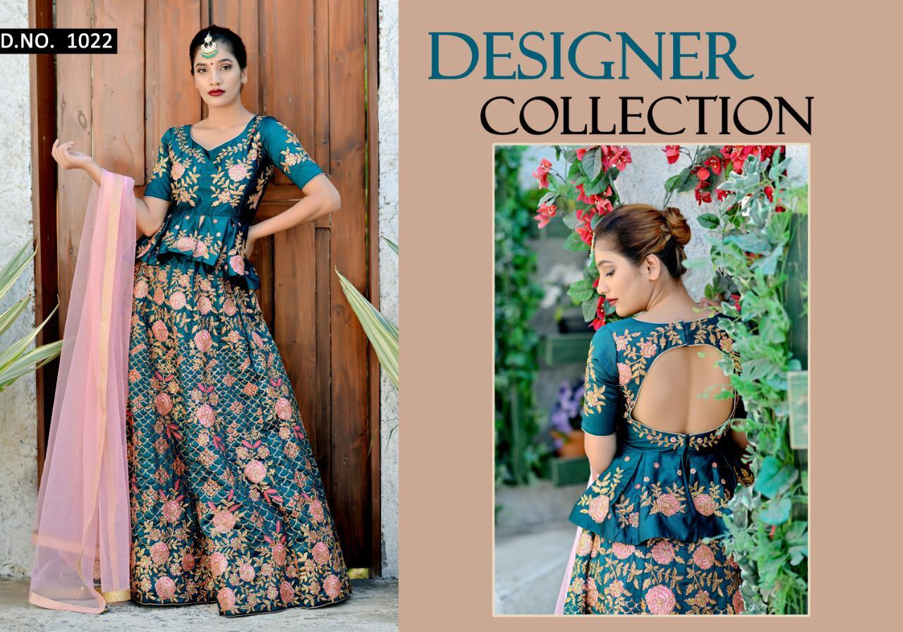 Embroidered Designer Wedding Lehenga