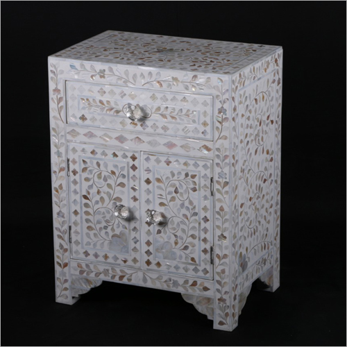 Mother Pearl Inlay Side Table