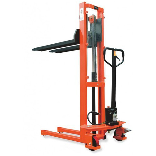 Stainless Steel Hydraulic Pallet Stacker