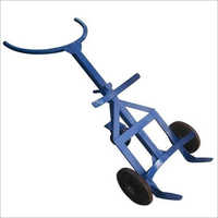 Three Wheel Drum Hand Trolley