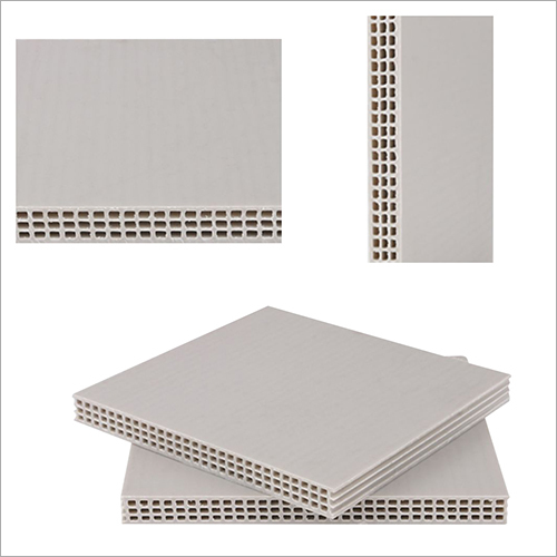 High Strength Hollow Plastic Formwork Sheet