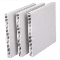 Light Weight Hollow Plastic Formwork Sheet