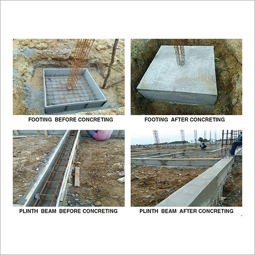 Concrete Footing Formwork Service