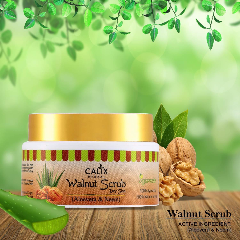 Herbal Walnut Scrub (Dry Skin)