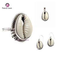 Indian Shell Codi 925 Silver Earring