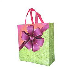 Handle Printed Shopping Bag