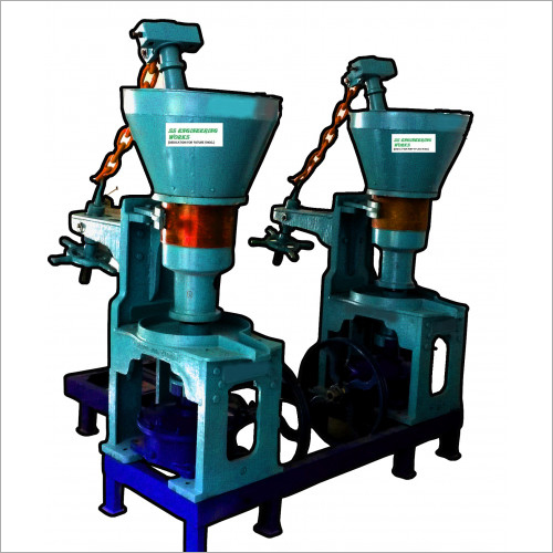 Double Rotary Cold Press Oil Machine