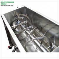 SS 150 KG Per Batch Ribbon Blender Machine