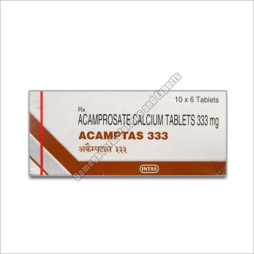 333 mg Acamprol Tablets