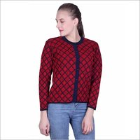 Ladies Woolen Cardigan in Himachal