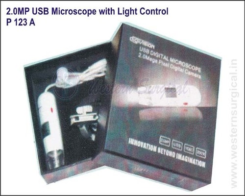 2.0MP USB Microscope with Light Control