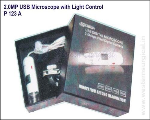 2.0MP USB Microscope with Light Control