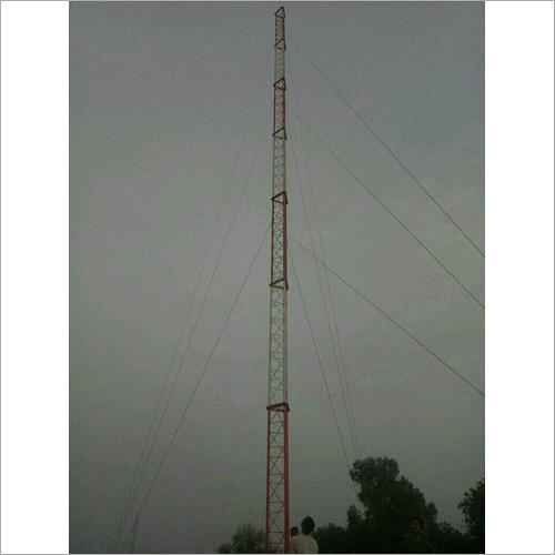 Guyed Wire Steel Tubular Communication Tower