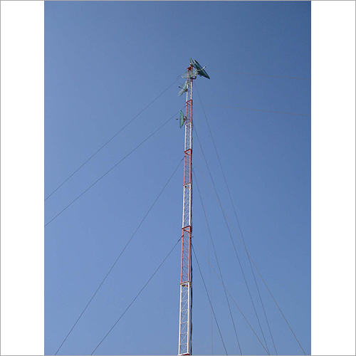Guyed Mast Antenna Telecom Tower
