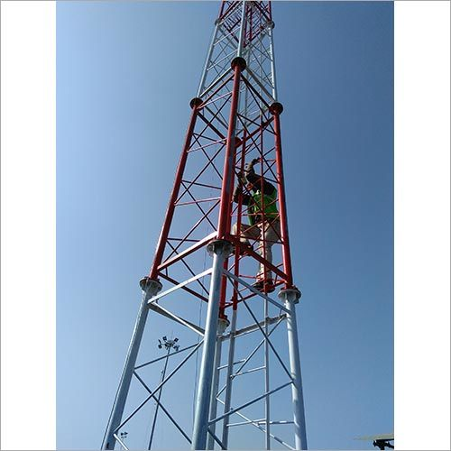 4 Leg Self Supporting Telecommunication Tower